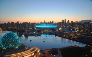Seeing BC Place lit with teal was a great way to close the first World Ovarian Cancer Day.