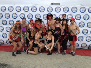 The Pirates of the Nether Regions raised nearly $13,000 last weekend for the Underwear Affair.